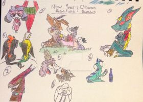 New Years resolutions and Christmas promises by MagicPhoenixstonedra
