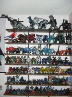 My Zoids collection by KibaFang17