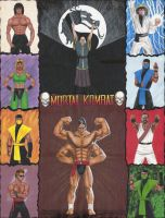 Mortal Kombat p. 2nd version by edithemad