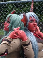 Scanty and Kneesocks III by RaquelQuiros