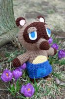 Tom Nook Amigurumi by MilesofCrochet