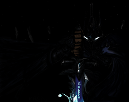 Ms Paint : Lich King by Shleeen