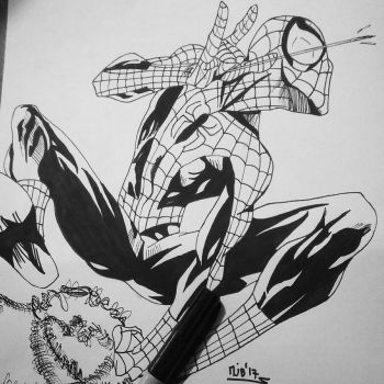 Ultimate Spider-Man- Inks by Soyelmejor999