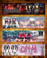 SCANDAL HEAVEN Banner Designs by NiveumDiabolus