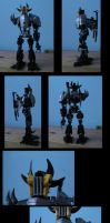 bionicle: carrus by CASETHEFACE