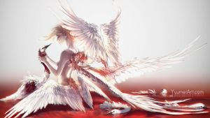 Stolen Wings by yuumei