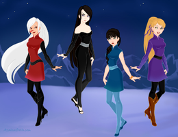 My FMA OCs in order by peppermix14