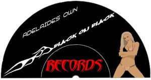 Logo for Black on black record by hotrod32
