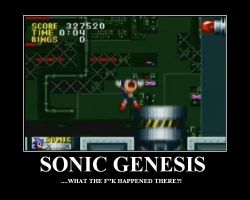 Sonic Genesis WTF moment by dburch01