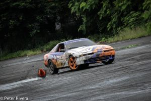 Drifting clipping point in Toyota Supra by Caramanos2000