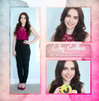 Photopack 508 - Lily Collins by BestPhotopacksEverr