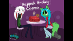 Happeh B-day Cosmo!! :33 by Stassy-IFOX3