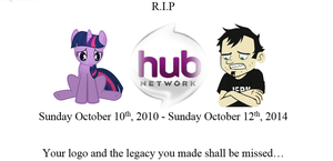 Rest in Peace Hub Network by Broxome
