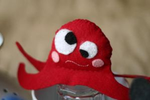 Octopus in felt by noasign
