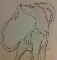 Houndoom. by EMOPeanutButter