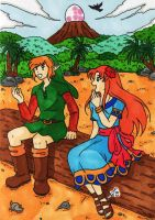 TLOZ - Your world by KeikoWolfgirl