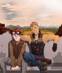 Brooklyn and Luke: Fallout: New Vegas by Strawb3rry-D3mon