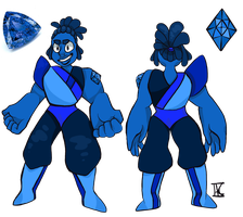Tanzanite referance sheet [Gemsona] by Pastel-lee