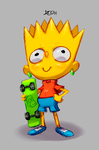 Bart Simpson by zeoarts