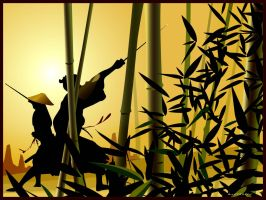 Bamboo Showdown by jimgun