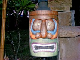 Tiki Head by Irie-Stock
