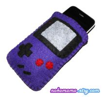 Gameboy Gadget iPhone Case by nokomomo