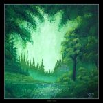 Emerald Forest by Clu-art