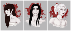 The Vampires by ladysilvana