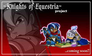 Mlp KNIGHTS OF EQUESTRIA : SHINING ARMOR teaser by ShoNuff44