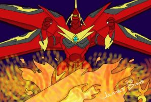 Bakugan Fusion Dragonoid Power by JamesBakuMaster