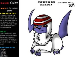 Claire The Absol by furqueen