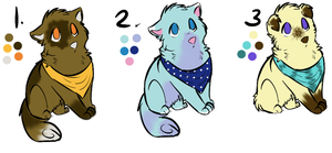 Canine Set 1 -OPEN- by purelyadoptable