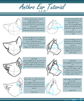 Anthro Ear Tutorial by AlliNix