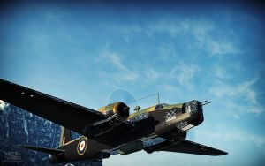 War Thunder - Wellington With 4000 lbs Bomb by Shroomworks