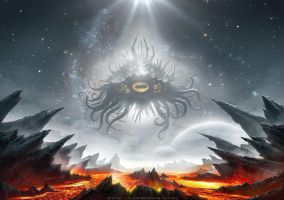 Azathoth by ClaudioBergamin