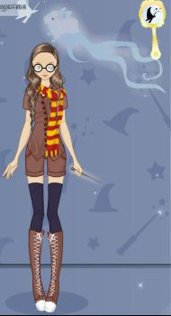 Me at Hogwarts by aniumelover-15