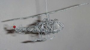 Wire Helicopter by Jakari