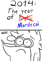 2014: The Year of MORDECAI. by LotusTheKat