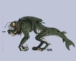 :CLOVERFIELD MONSTER-1: by UsagiSasami
