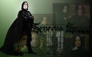 Severous Snape wallpaper by GothBarbie