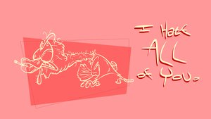 This Turkey is Hateful by Lotusbandicoot
