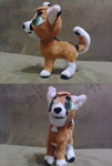 Taren plush by Toshiko-paws
