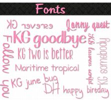 mass fonts by Chokolathosza