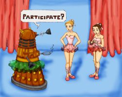 Dance of the Daleks by sailorstarnite
