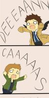Destiel Strip 2 by ChiyoPurr