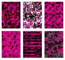 Hot Pink Emo Collection by artamatikrose