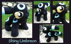 Shiny Umbreon - Outdoors by CeltysShadow