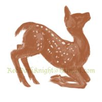 Sketch: Fawn by KreepingSpawn