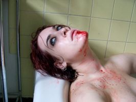 Blood Shower IV by fetishfaerie-stock