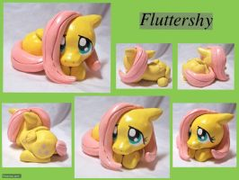 Fluttershy Sculpture by CadmiumCrab